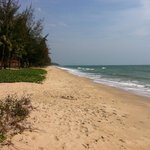 Beach towards Hua Hin