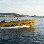 speed boat adventure&charter boat by Takeoffibiza