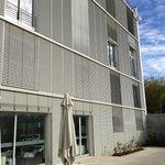 Außenansicht nach hinten - Terrasse - Ebene -2