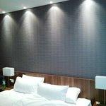 Doppelzimmer/Doppelbett - Wandseite