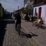 Rural villages with cobbled streets