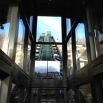 Funicular to the St. Regis