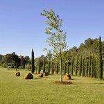Jardín de esculturas