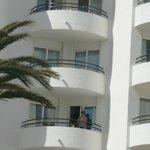 Unser Balkon im 4.OG