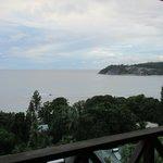 El mar desde el balcón