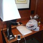 Desk area in room #310
