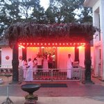 Kataragama Sacred Precinct, just a few steps from Sunil's