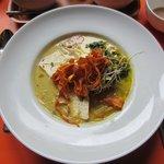Plat: Waterzooi de la mer (tofu aux algues)