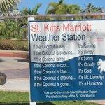 Marriott Weather Report.