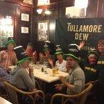 St Patrick's Day fun at The Bulldog