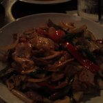 Pork Drunken Noodles, my favorite at Sabai Sabai