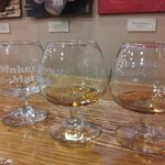 samples of white dog (unaged corn whiskey), makers, makers 46