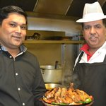 Jamil (Owner) + Mr Z Shah (Head Chef)