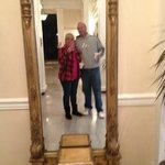 The mirror near the elevators-they kept so many old details of the original hotel!