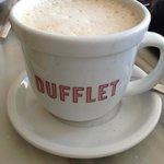 latte at Dufflet
