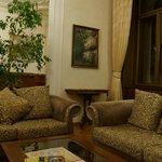 Гостиная, зона с диванами