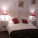 Notre chambre avec grand lit