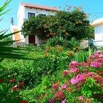 La résidence, jolie fleuri