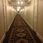 Hallway to our room