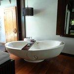 Our Villa - the marble bath!