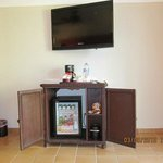 Mini-bar and TV