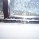 crud on showere door
