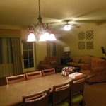 Main living and dining area