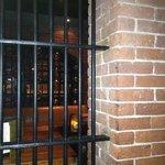 The bar.. behind bars