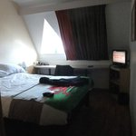 Our room, double bed was most comfortable.