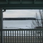 View of Peninsula State Park from room.