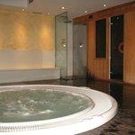 baño turco y jacuzz
