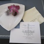 complimentary truffles sent to our room for anniversary