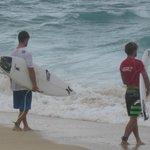 Brazilian surfers