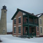 Southport Lighthouse and keepers house