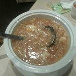Shark fins soup