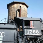 Engine and water tower