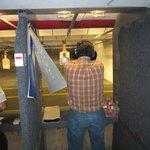 Me shooting the 38 Special Rhino revolver