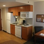 Very well equipped kitchen area