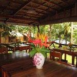 Restaurant View to Garden