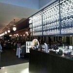 bar and main floor