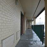 Outdoor hallways.