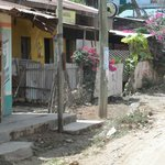 Just off the main street in Malindi