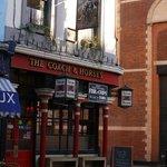 The famous 'Coach & Horses' 29 Greek Street