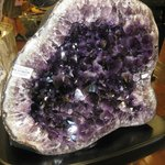 Amethyst from gift shop nearby