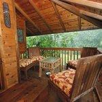 petite terrasse a l'abris de la pluie