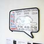 Creative way of showing weather updates