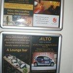 Hotel Info Board