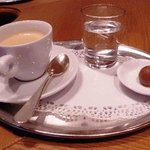 Coffee at Gasthof Post