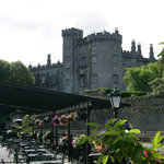 Hotel overlooked by Kilkenny Castle
