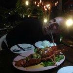 Lobster diner (fr. langouste)
